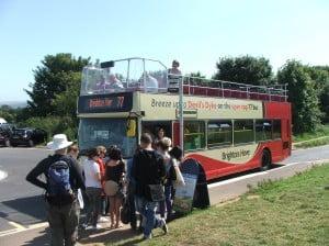 Brighton & Hove Breeze Bus - Credit Jacquetta Fewster